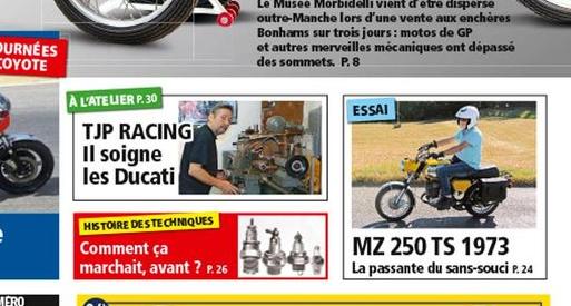 la vie de la moto Mz250t10