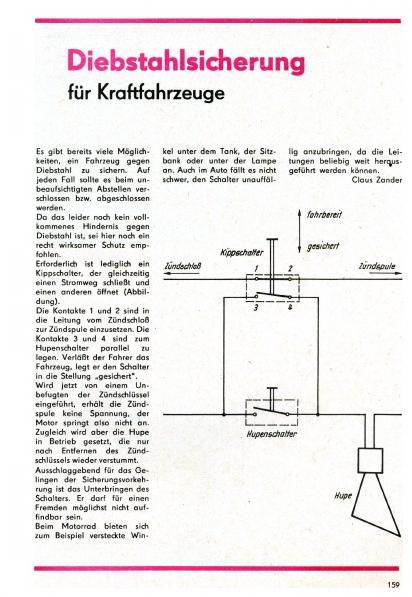 Antivol moto (magazine practic 4/72) Practi10