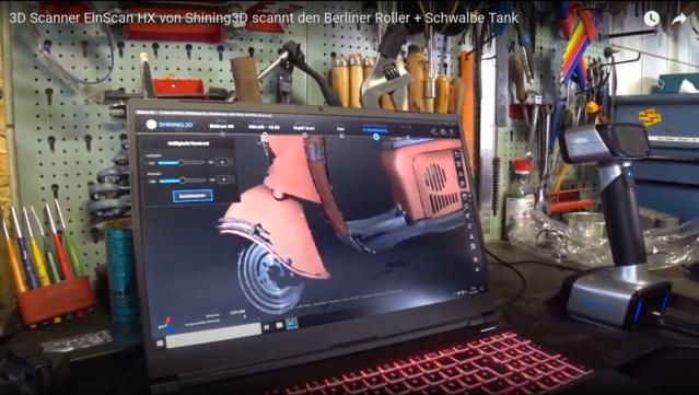 Impression 3D de pièces pour MZ Scanne11
