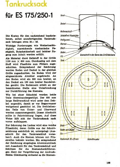 Sacoche de réservoir (magazine practic 3/1970) Tankru10
