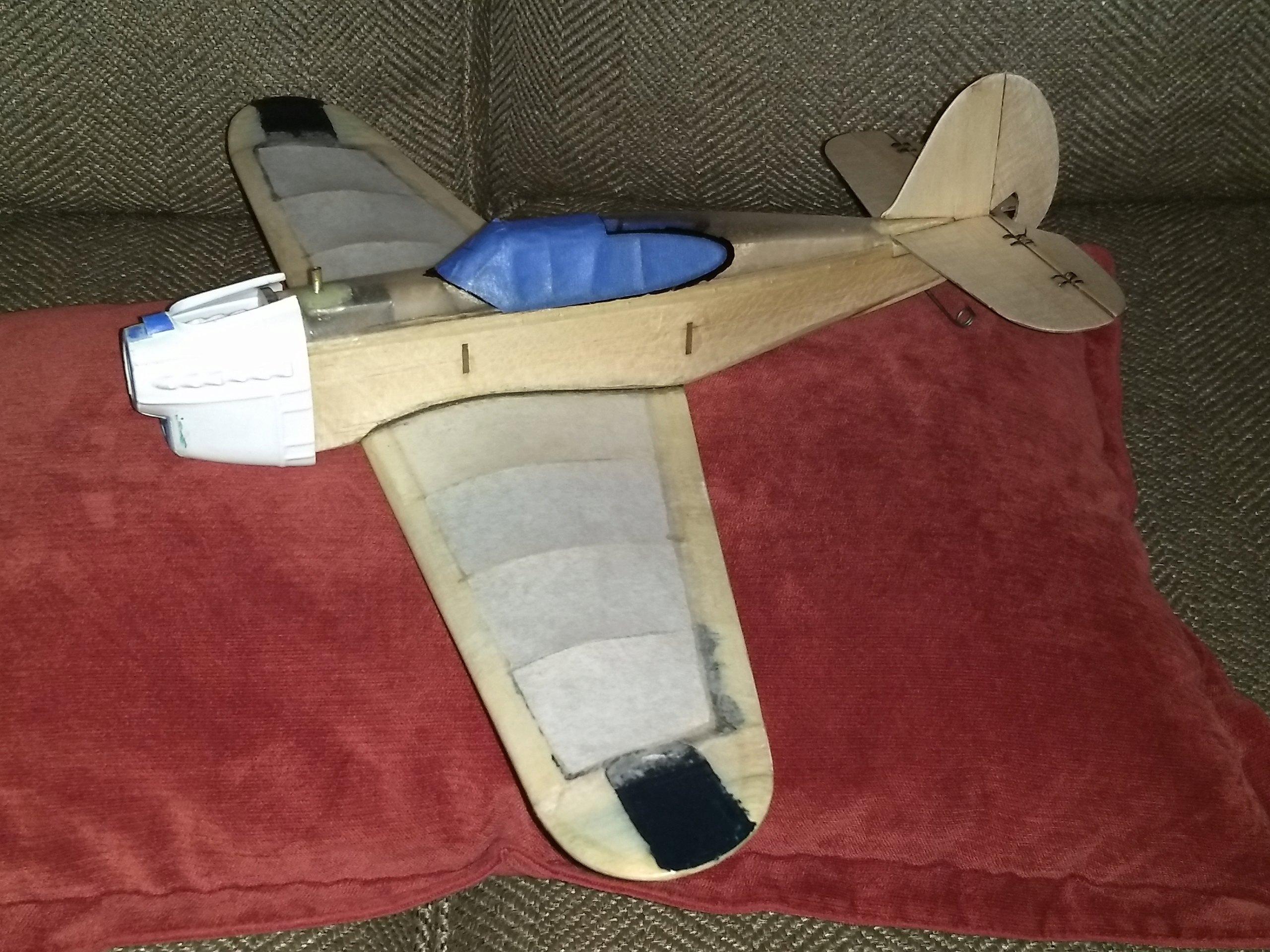 DPC Models/AeroWerkes Scientific P-40 Red Tiger Reproduction Img_2201