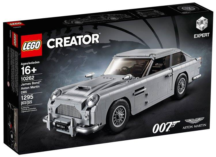LEGO® Creator Expert 10262 James Bond™ Aston Martin DB5 - Available for VIP members! 213