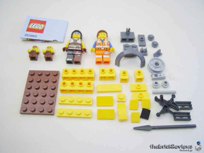 ThebrickReview: 853865 The Lego Movie 2 Accessory set Snc13012
