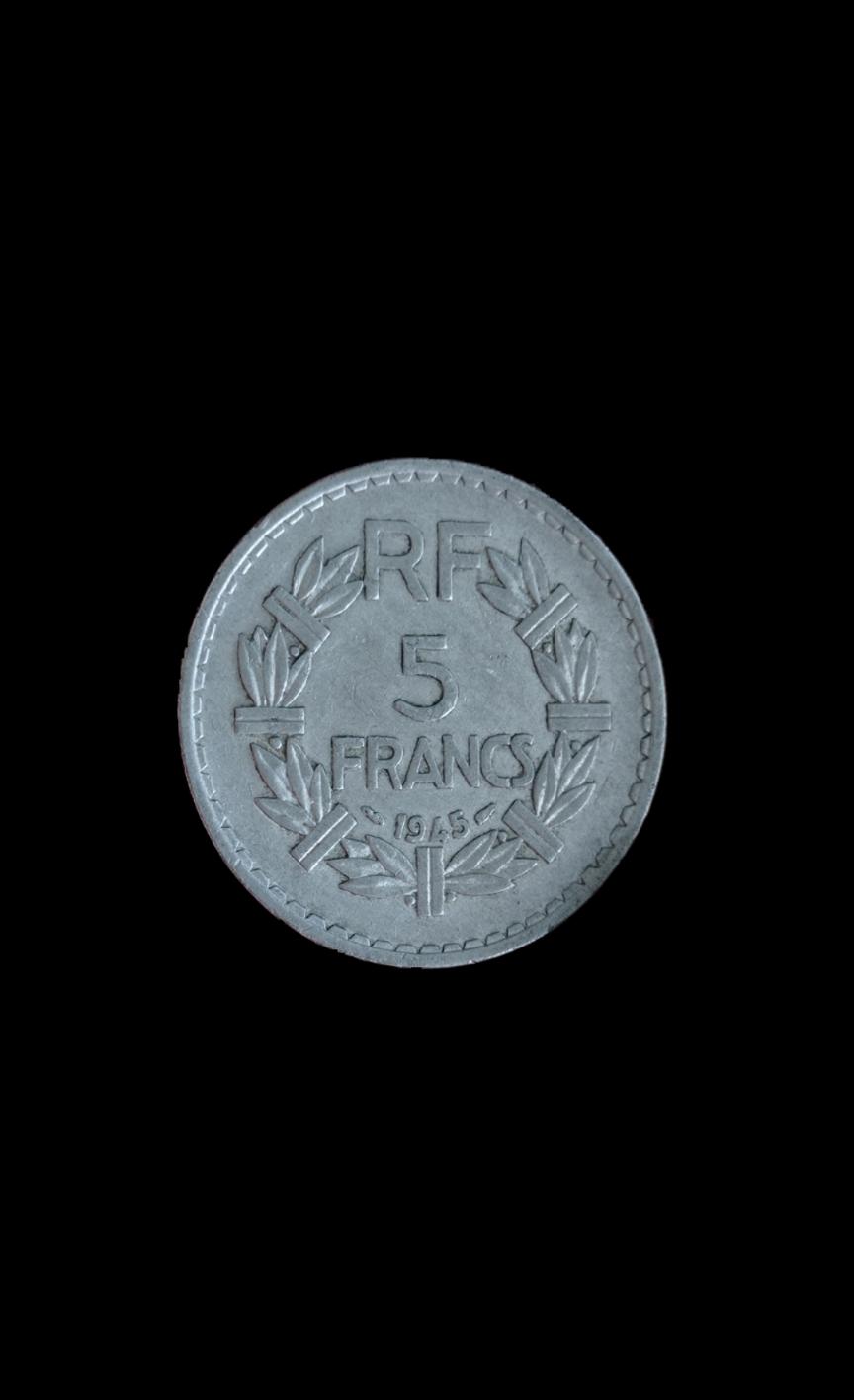 Francia, 5 Francos de 1945 16259110