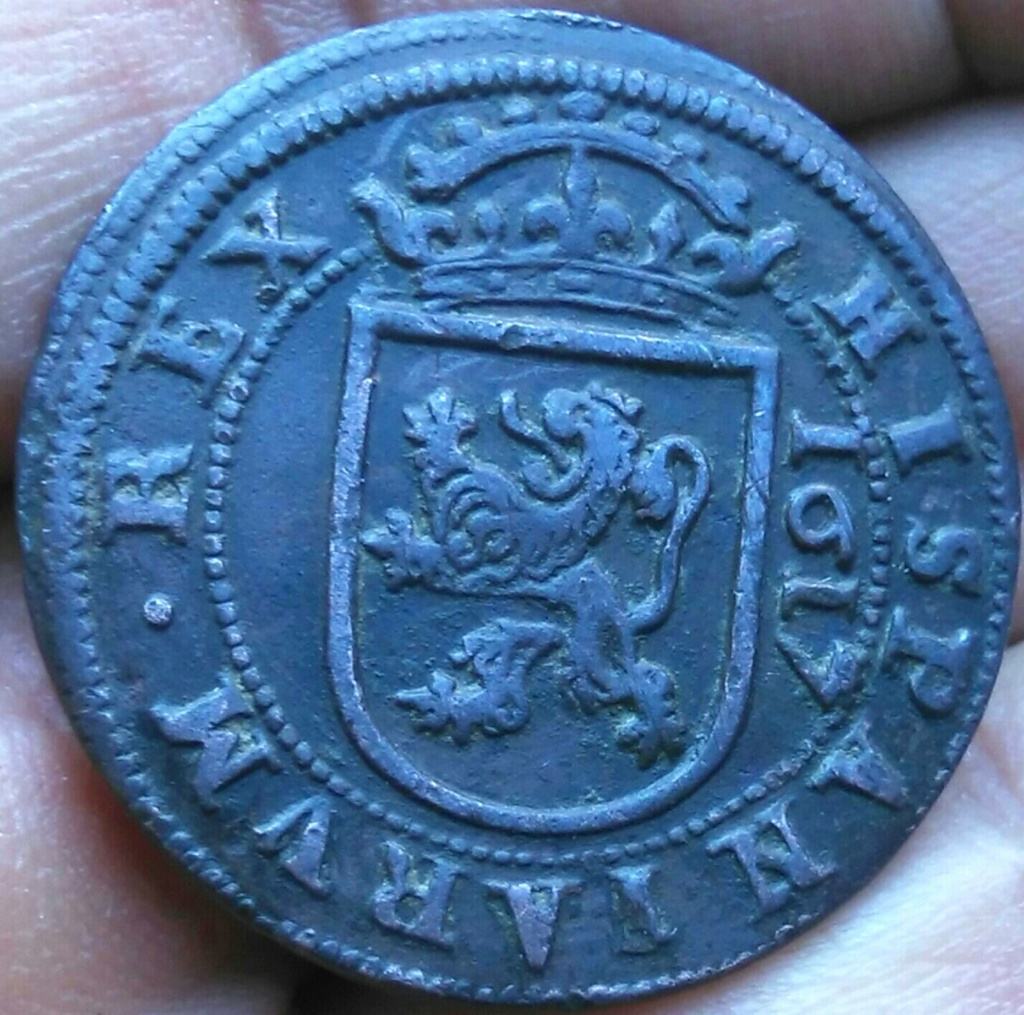 8 maravedís de 1617 con marca de ensayador Img_2050