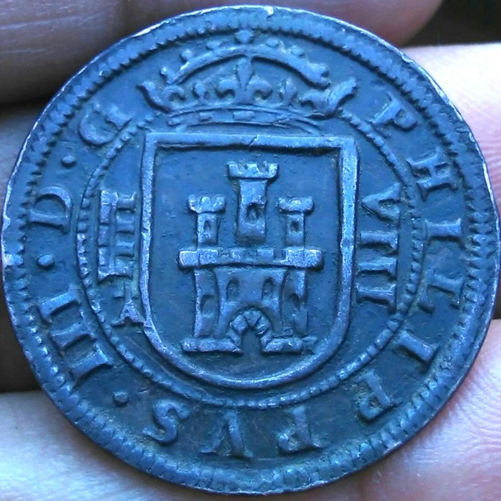 8 maravedís de 1617 con marca de ensayador Img_2051