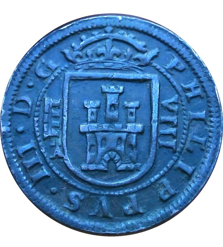8 maravedís de 1617 con marca de ensayador Img_2053