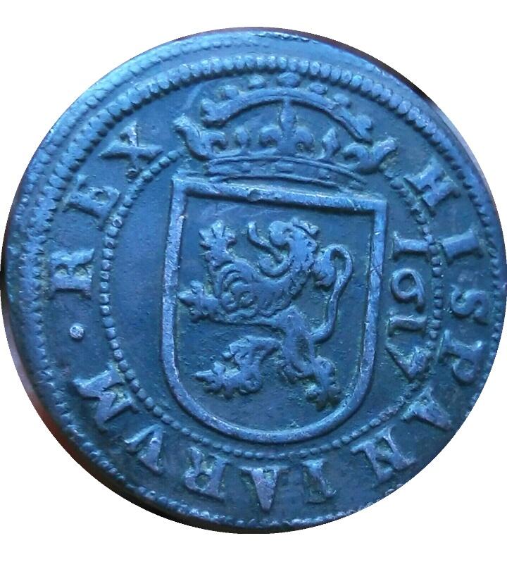 8 maravedís de 1617 con marca de ensayador Img_2054