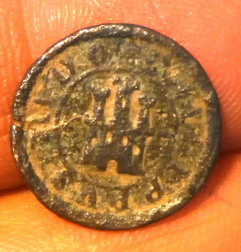 2 Maravedís Felipe IV Segovia. Img_2106