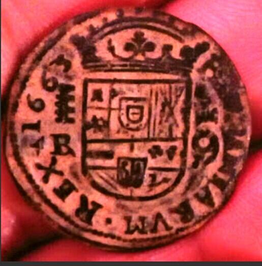 16 Maravedís Felipe IV (Segovia 1663) Inédita Img_2120