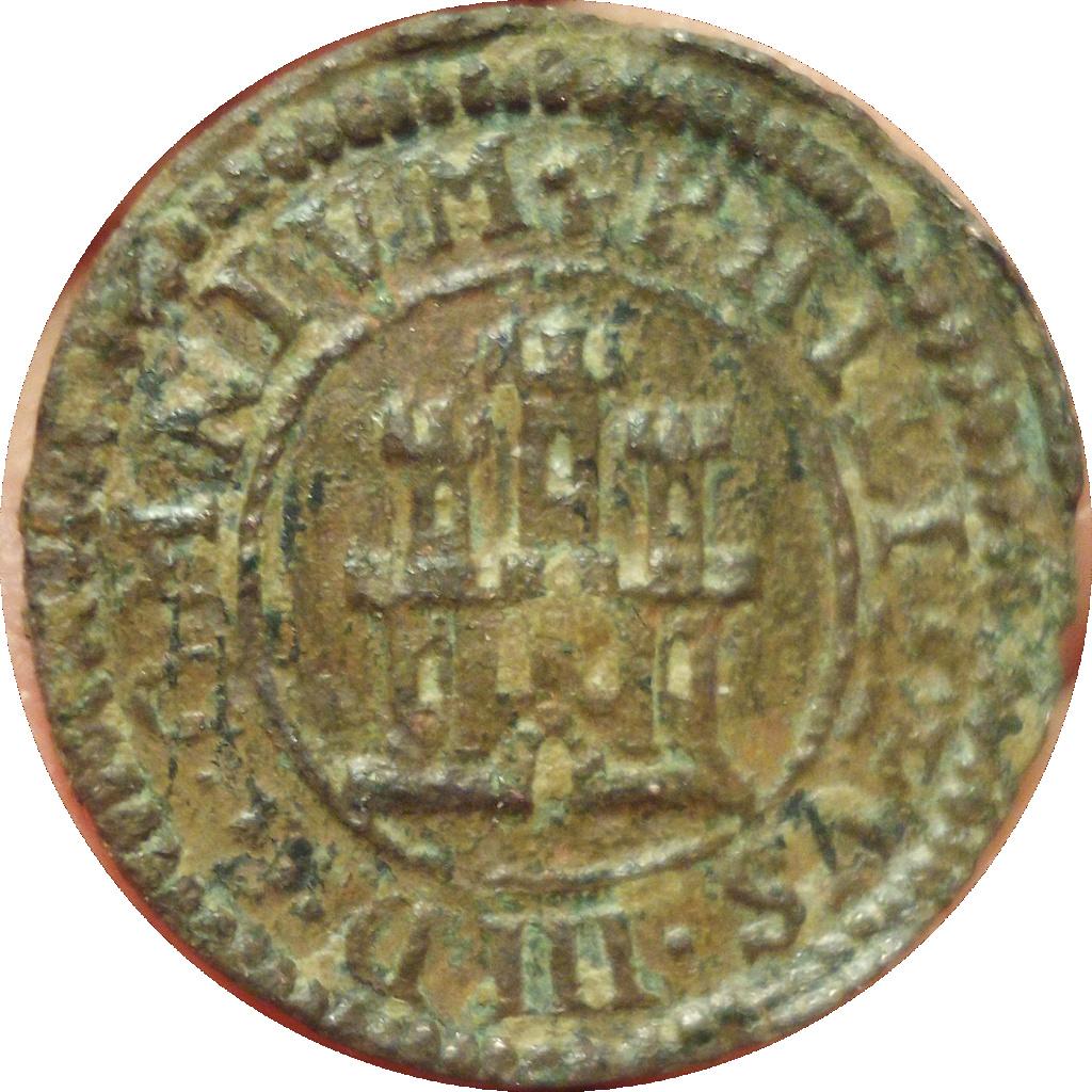 1 maravedí del Real Ingenio de Felipe III 1599 Photot11