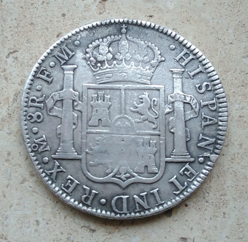 Carlos III 8 Reales 1787 Mexico 213