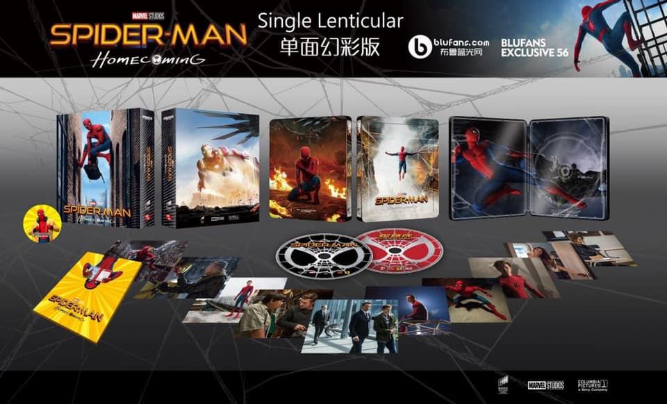 Spiderman home coming édition Blufans fullslip 12321410