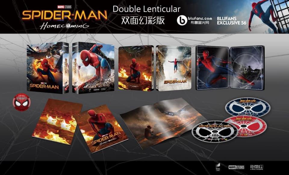 Spiderman home coming édition Blufans fullslip 12323710