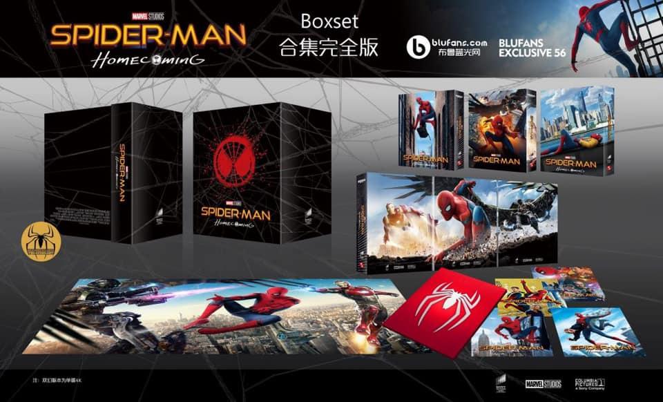 Spiderman home coming édition Blufans fullslip 12325910