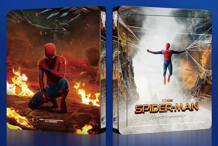 Spiderman home coming édition Blufans fullslip Spider11
