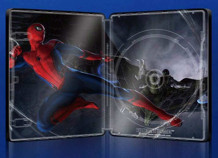 Spiderman home coming édition Blufans fullslip Spider12