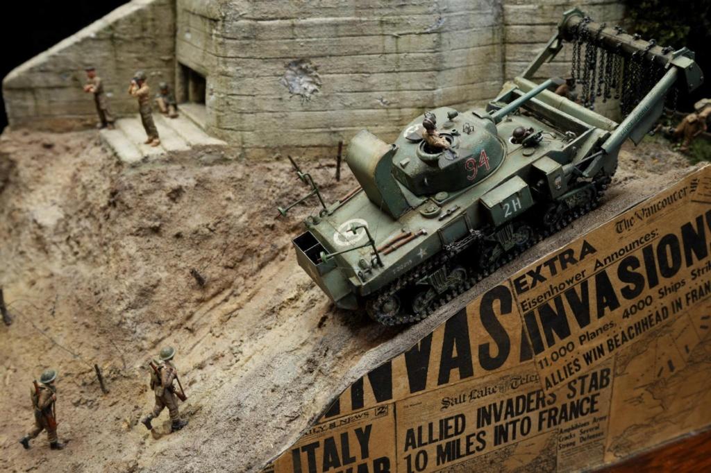Diorama de Shermans sur tous les fronts !  14029511