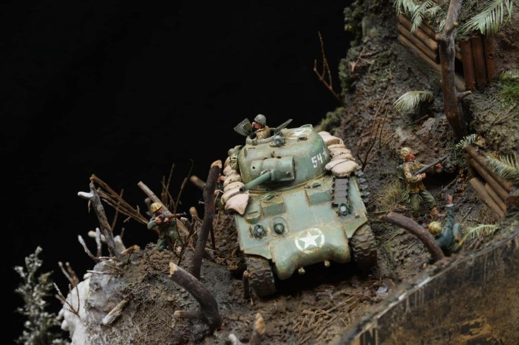 Diorama de Shermans sur tous les fronts !  14073113