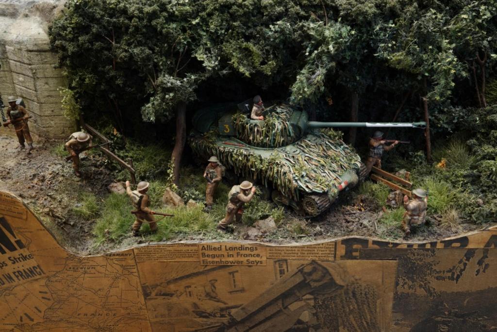 Diorama de Shermans sur tous les fronts !  14113211