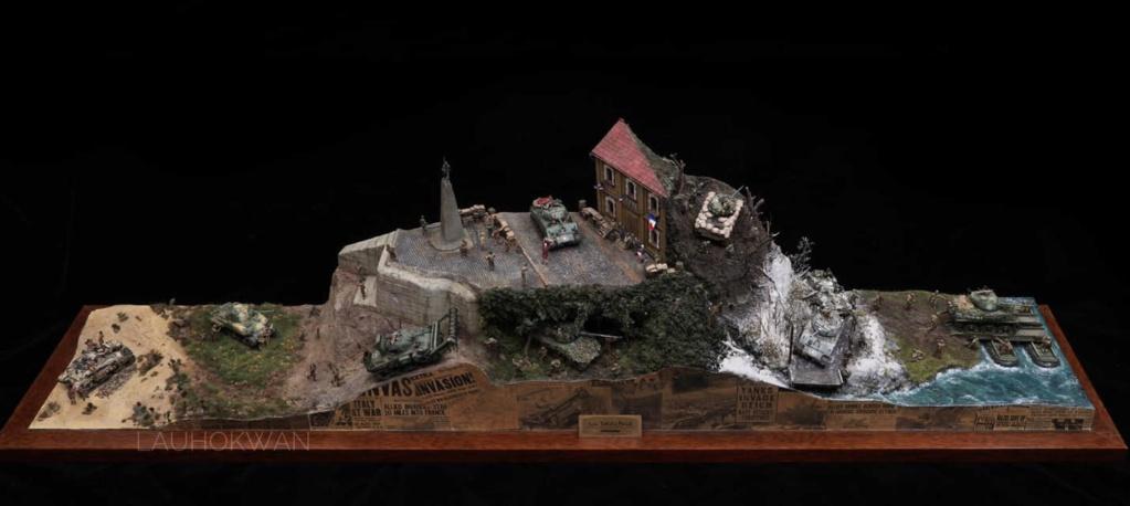 Diorama de Shermans sur tous les fronts !  14130411