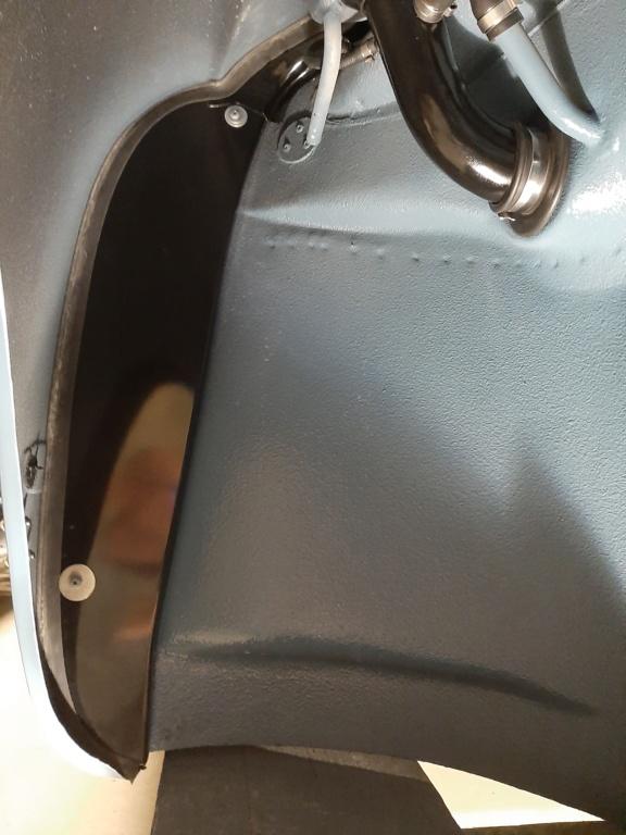 Montage du pare boue + joint; KJ 1958 20200611