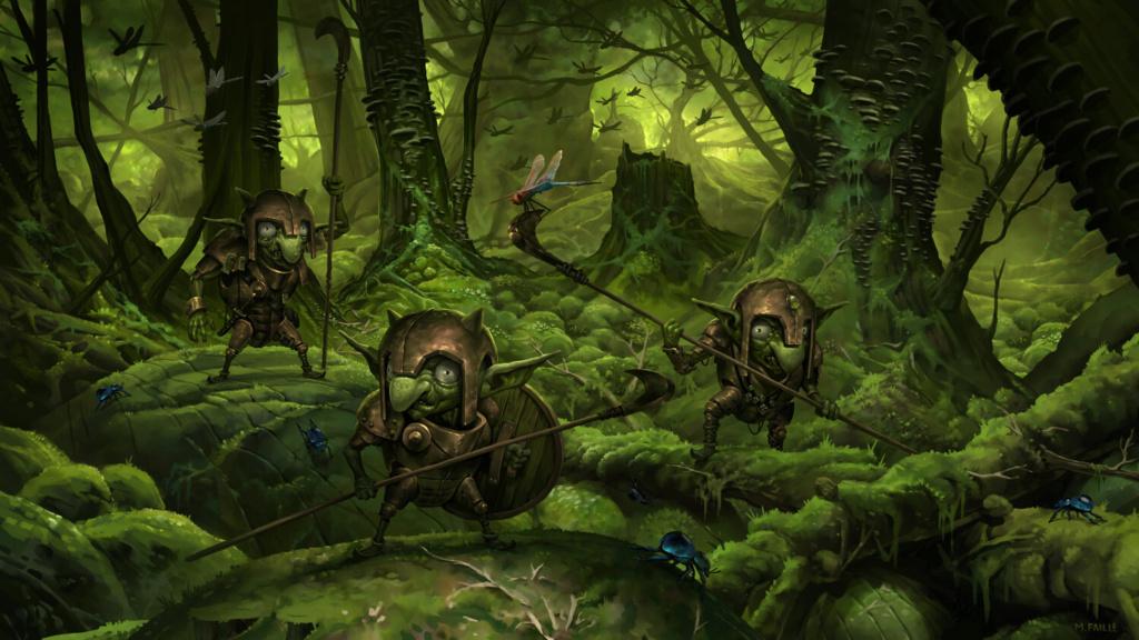 Arkan Rob - A folha de um vento espalhado - Os efeitos de um pós guerra Goblin10