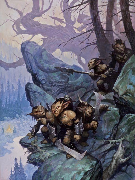 Arkan Rob - A folha de um vento espalhado - Os efeitos de um pós guerra Goblin11
