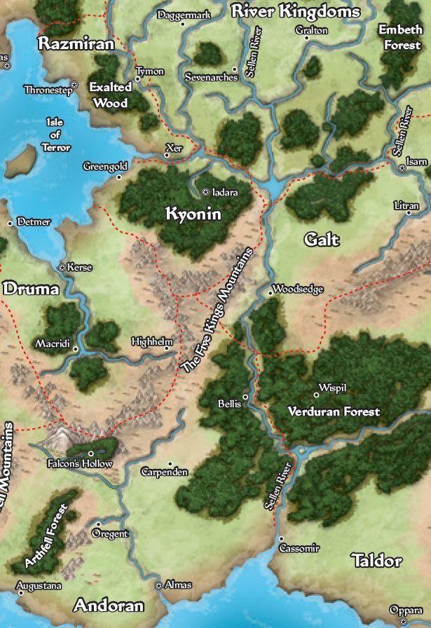 One nail - Pathfinder 1ª edição. - Golarion Adventures - Página 4 Kyonin10