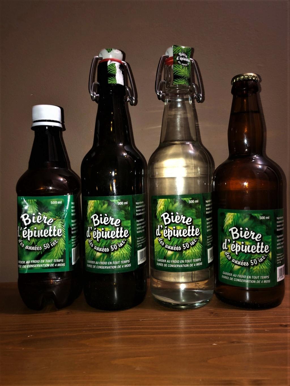 Liqueur du Québec et bière épinette de 2018 à 2020 Annzoe10
