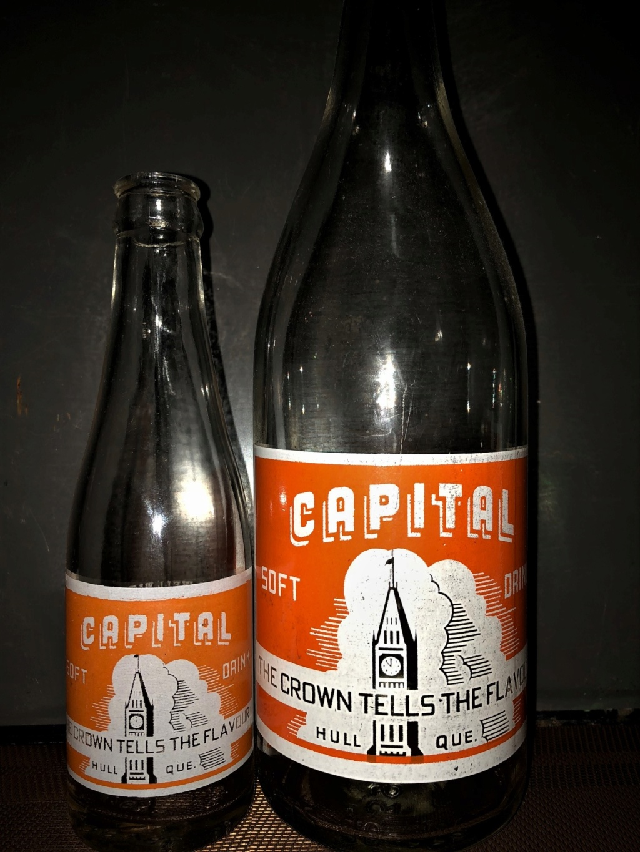 CAPITAL SOFT DRINKS REG. - Hull, Québec **ACL** Capita10