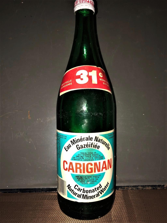 Eau minérale de marque Carignan Carign11