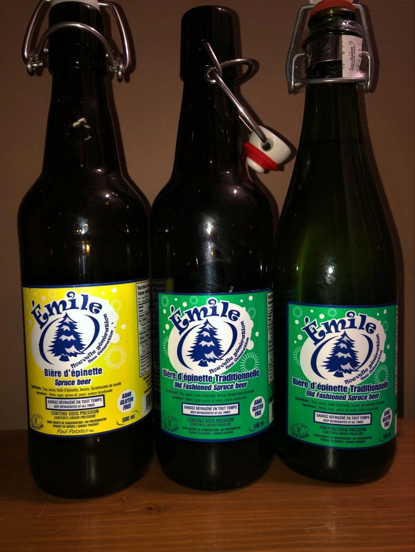 Liqueur du Québec et bière épinette de 2018 à 2020 Zomile10