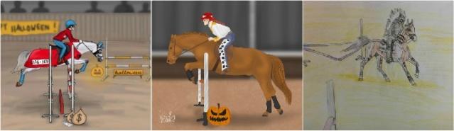 Halloweenin estekilpailut x Winner Comes Home 10-1210