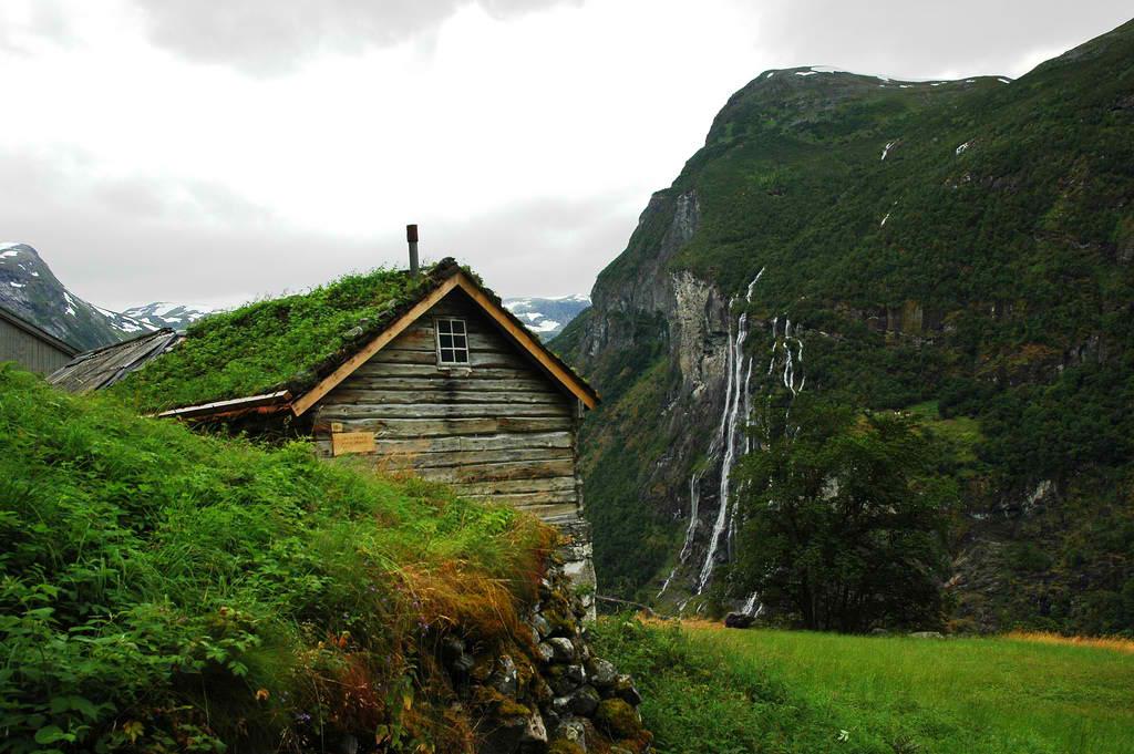 Роскошные пейзажи Норвегии - Страница 40 0110