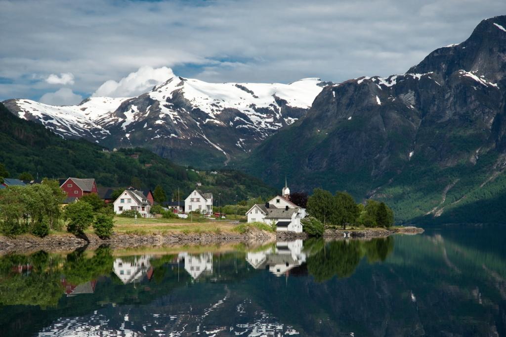 Роскошные пейзажи Норвегии - Страница 40 F0a7b810
