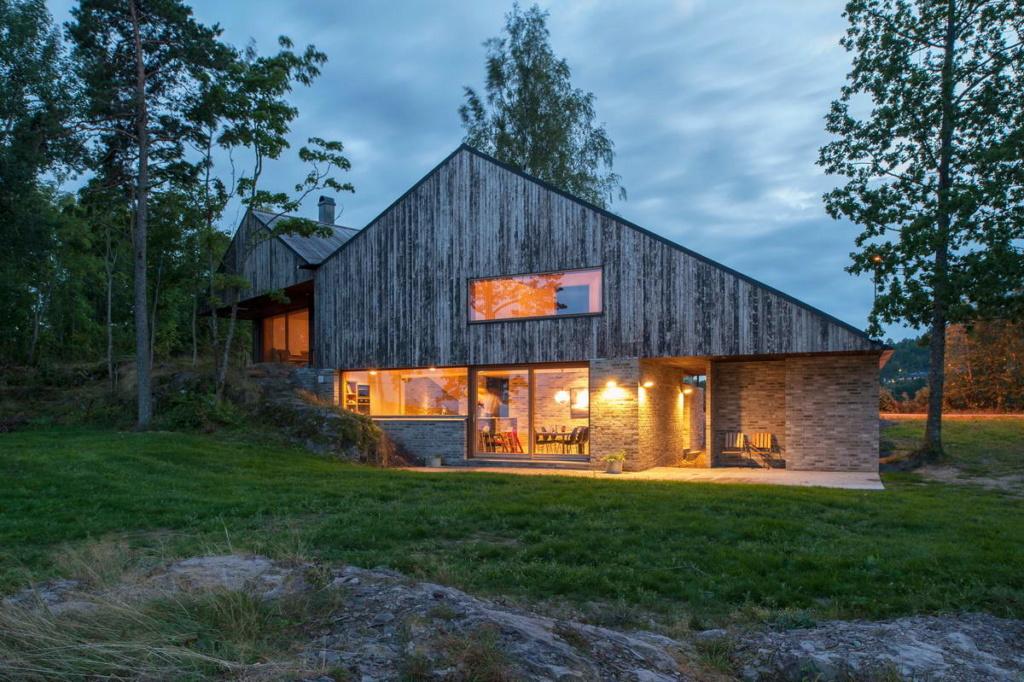 Роскошные пейзажи Норвегии House-10