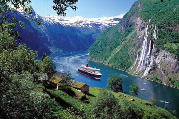 Роскошные пейзажи Норвегии Norveg14