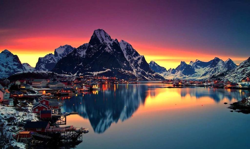 Роскошные пейзажи Норвегии - Страница 23 Saaaau10
