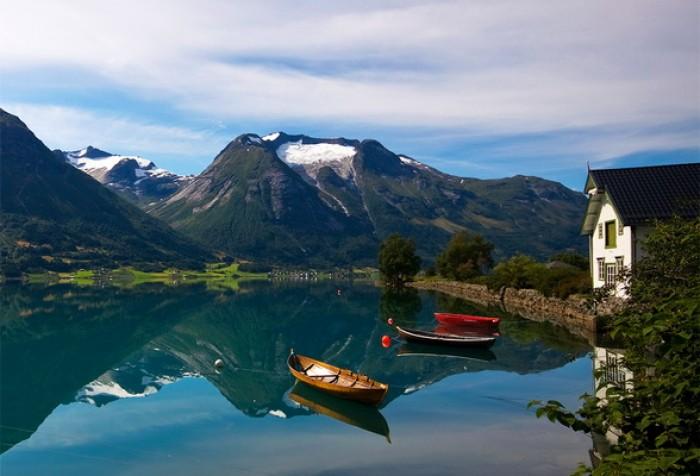 Роскошные пейзажи Норвегии - Страница 23 Skandi10