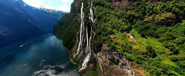 Роскошные пейзажи Норвегии Slider10