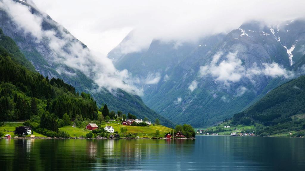 Роскошные пейзажи Норвегии - Страница 39 Sognef10