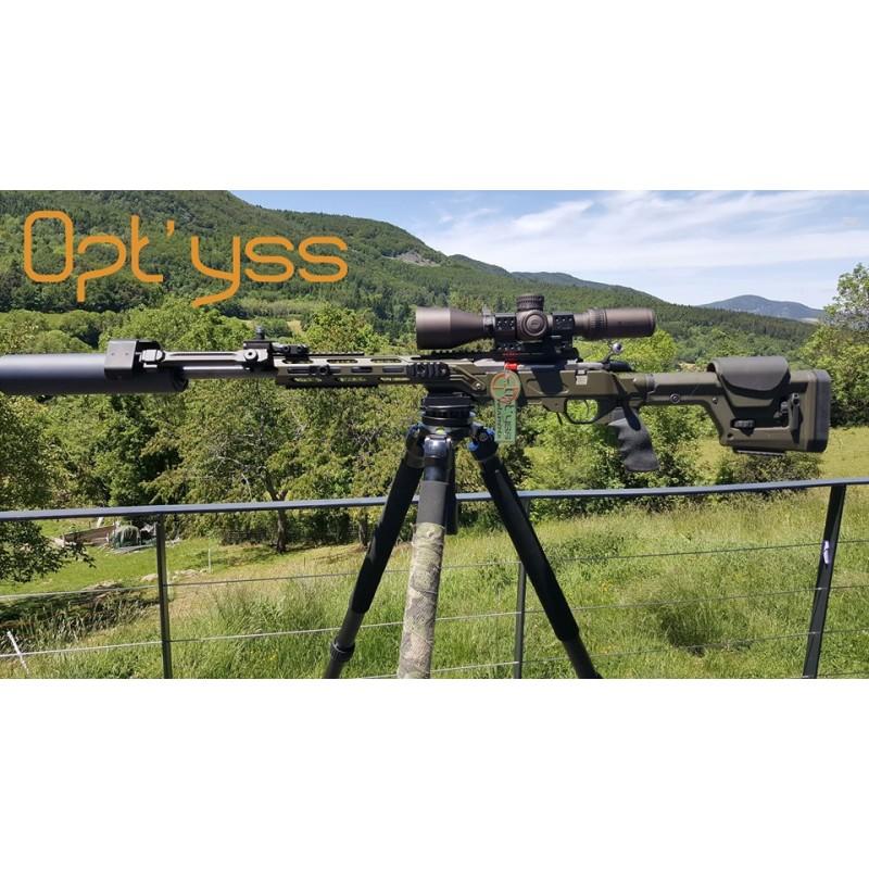 Trépied de tir Opt'yss instruments sur base arca swis Pack1-11