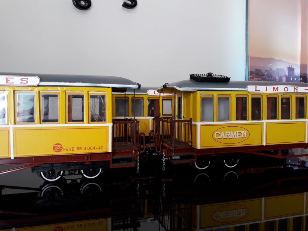 Construcció dels cotxes de viatgers Carcaixent-Dénia (Limón Exprès) a partir de vagons LGB - Página 6 510