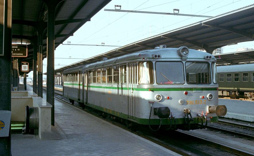 Ferrobus RENFE serie 591 a escala G 591_re10