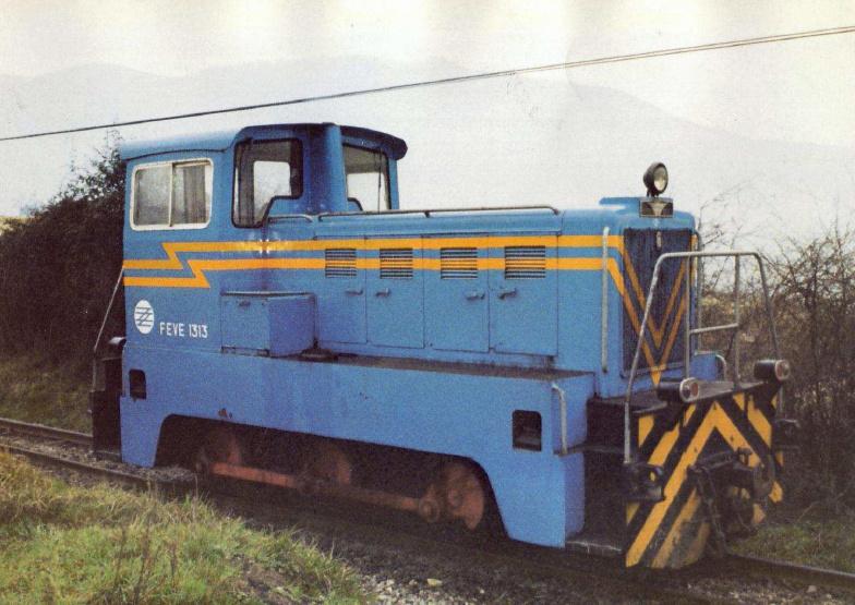 Locomotora 1300 Naval FEVE / FGC a escala G Loc_1310