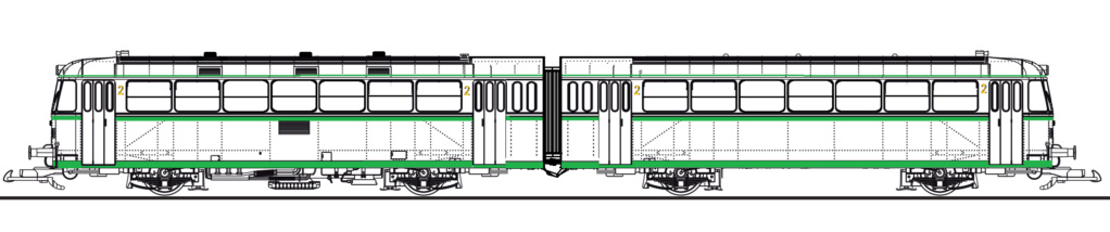 Ferrobus RENFE serie 591 a escala G Plano_10