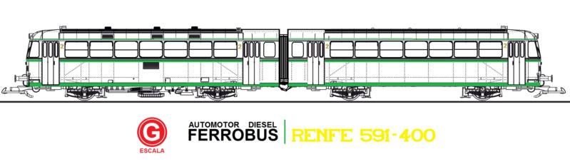 Ferrobus RENFE serie 591 a escala G Plano_13