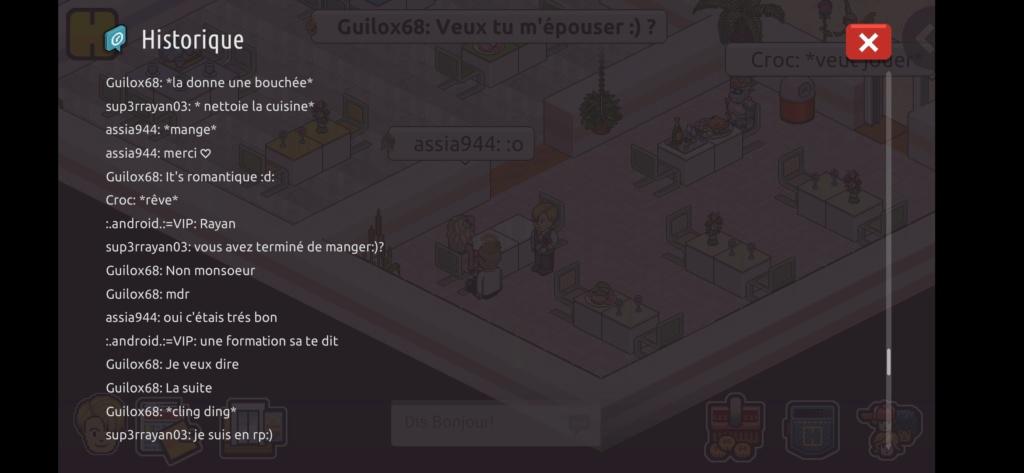 [Restaurant] Rapports d'actions RP de Sup3rrayan03  Scree101