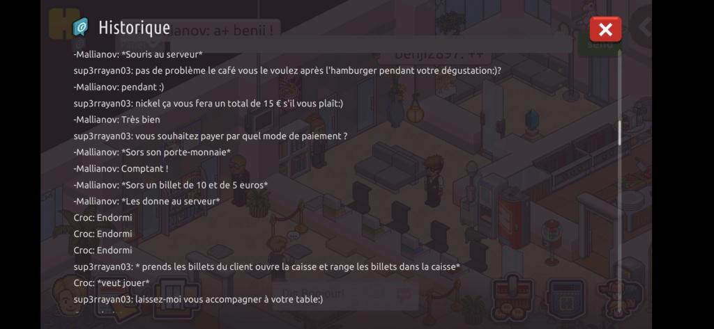[Restaurant] Rapports d'actions RP de Sup3rrayan03  Scree107